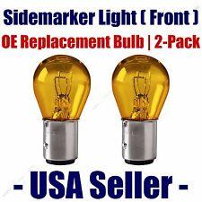 Sidemarker (Front) Light Bulb 2pk - Fits Listed Kia Vehicles - 1157A