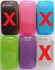 PARA NOKIA E72 FUNDA CARCASA DE GEL TPU DISEÑO DIAMONDS TPU CASE COVER