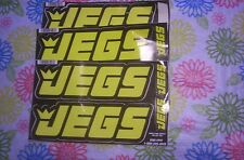 8 JEGS 100 JEGS Contingency Size Racing Decals 2 Sets of 4 Decals plus 2 more