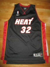 Reebok SHAQUILLE O'NEAL No. 32 MIAMI HEAT (XL) Jersey BLACK RED