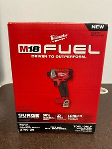 """Milwaukee SURGE M18 FUEL 1/4"""" Hex Hydraulic Driver (Tool Only) In Box"""
