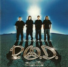 P.O.D. : SATELLITE (NEW VERSION) / CD (ATLANTIC RECORDING 2001)