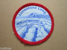 Limestone Limp Walking Hiking Cloth Patch Badge