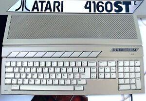 Rare ATARI 4160 STE - RAM 4 Mo TOS 1.62 Ordinateur /Computer ST 1040 520 MEGA