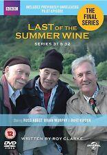 Last of the Summer Wine: Series 31 - 32 DVD Season New & Sealed