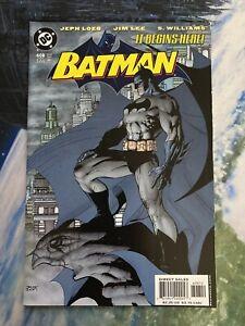 Batman #608 2nd Print Variant ~ HTF LOW PRINT ~ JIM LEE ART ~ HIGH GRADE NM COPY