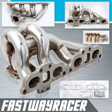 T25 T28 Bottom Mount Stainless Steel Turbo Manifold For 240SX S13 S14 SR SR20DET