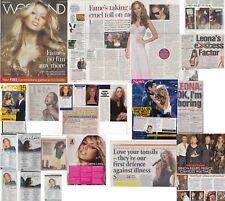 LEONA LEWIS : CUTTINGS COLLECTION -interviews-