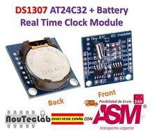 DS1307 AT24C32 I2C RTC MODULO RELOJ para AVR ARM PIC para Arduino