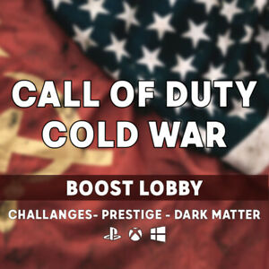 Call of Duty: Black Ops Cold War Boost Bot Lobby Recovery PS5/PS4/XBOX/PC