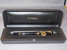 Parker Black Duofold Roller ball pen