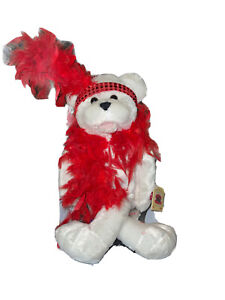 """Chantilly Lane Musical  """"Roxie Bear"""" sings """"I Wanna Be Loved By You""""  New W Tag"""