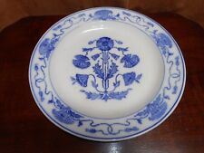 """A VILLEROY & BOCH GERMANY DRESDEN FLOWBLUE CHARGER 14""""  POPPIES PATTERN F508"""