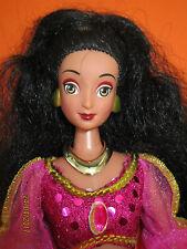 B490-Vieille magnifique Barbie Jasmin Disney complet vêtements et bijoux 30 cm