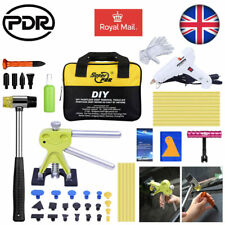 52pc PDR Car Auto Body Tools Paintless Dent Repair Dent Puller Hail Removal Kits