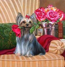 PINK ROSE DOG MOSAIC DIAMOND PAINTING KIT 5D CROSS STITCH UK Seller DIAMOND DOTS