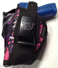 Muddy Girl Gun Holster fits Walther P-99 Compact | Use L or R Hand Draw