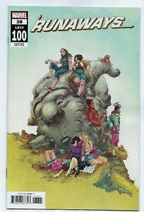 Marvel Comics RUNAWAYS #38 first printing cover B