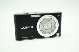Panasonic LUMIX DMC-FX35 10.1MP Digital Camera - Black + 4 GB memory Card