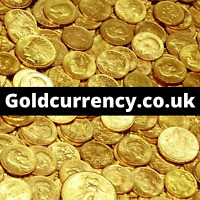 Goldcurrency.co.uk Premium Domain Name For Sale Gold Bullion Coins Bars Online