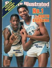1983 Sports Illustrated North Carolina Michael Jordan / Sam Perkins NR/Mint