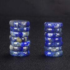 5 Pcs Natural Lapis Lazuli Gemstone  Worry Palm Stone Thumb Stone Lucky
