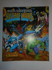 1986 MARVEL SUPER HEROES SECRET WARS COMPLETE SET & ALBUM (200 STICKERS) PANINI