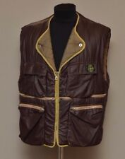 VERY RARE Stone Island Massimo Osti Brown Vest Gilet Size M Made in Italy