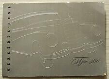 MERCEDES BENZ TYPE 300 SEDAN & CONVERTIBLE Sales Brochure c1953 #VI.53.6 engl