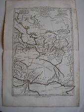 CARTE IMPERIUM PARTHORUM par BONNE carte ancienne 1780    68