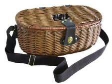 Wicker Willow Fishing Creel Canvas Shoulder Strap