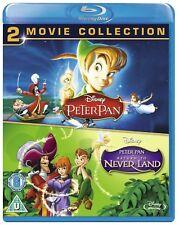 Peter Pan 1 & 2 COLLECTION: Blu-Ray NEW Original AND Return To NeverLand Box Set