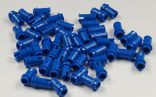 LEGO Technik - 50 x Pin, Pins 1/2 blau ( eine kurze Seite ) / 4274  NEUWARE
