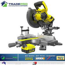Stanley® Fatmax 18V Slide Mitre Saw Kit Cordless Compound Drop Bevel Battery Set