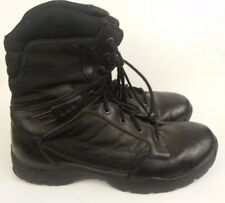 Magnum Response II 8 Mens Sz 15 Med EU 48 Black Leather Work Boots Preowned