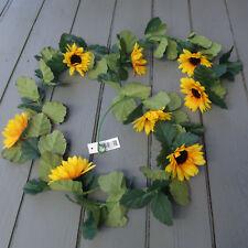 Artificial Sunflower Garland - 165cm Long