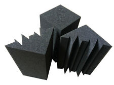 4 PCS Sound Absorber Acoustic Foam Proofing Music Recording Studio Bass Trap