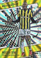 2017 Panini Revolution Soccer - Sunburst Parallel - Fenerbahce SK 112-118