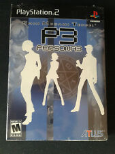 PS2-Shin-Megami-Tensei-Persona-3-Limited Edition NEUF/ FACTORY SEALED