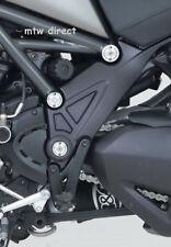 R&G RACING silver frame insert plug kit Ducati Diavel Strada (2013 , 2014  2015)
