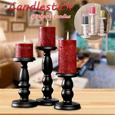Metal Carved Church Pillar Candle Holder Candlestick Wedding Home Decor 2  !