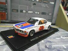BMW 3.0 CSL Gr.5 Coupes de Spa TWEM 1973 #28 Lauda Alpina 1/750 Spark 1:43