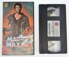 Mad Max 2 UK Release VHS PAL Video Tape 1981 Mel Gibson Action