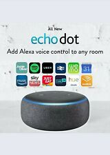 Amazon Echo Dot (3rd Generation) Smart Alexa Speaker - Charcoal