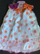 Fancy Nancy Posh Party Dress Up Costume Play Butterfly Polka Dot 4-6x NEW