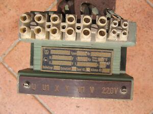 Trafo 220-400V auf 220V,Steuertrafo
