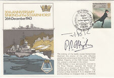 RN13c 30th Anniv of the Sinking of the Scharnhorst  Double Signed