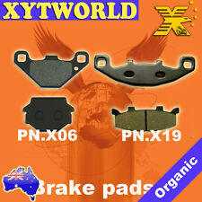 Front Rear Brake Pads Kawasaki ZZR250 ZZR 250 EX 250 H