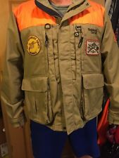 c47ade981ae29 Gander Mountain Guide Series Hunting Jacket Men's XXL 2XL Field Coat  W/Patches