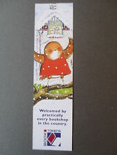 BOOKMARK Book Tokens JAN FEARNLEY  CHRISTMAS Little Robin Red Vest